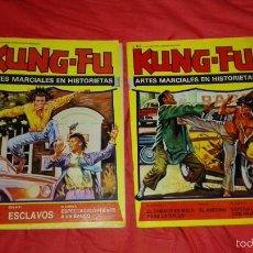 Cómics: DOS COMICS DE LA COLECCIÓN KUN FU , NUMEROS 53 Y 57. Lote 58841196