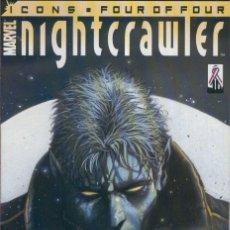 Cómics: NIGHTCRAWLER VOL.2, NUMERO 04: CROSSING. Lote 55623399
