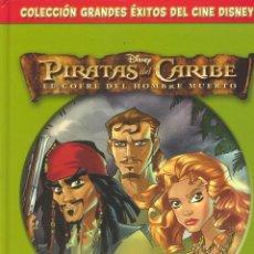 Cómics: PIRATAS DEL CARIBE. EL COFRE DEL HOMBRE MUERTO. TEBEO DISNEY. TOMO TAPA DURA. AÑO 2006. Lote 59166645