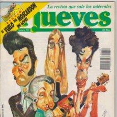 Cómics: EL JUEVES. LOTE DE 4 EJEMPLARES: 708,719,798 Y 813.. Lote 59171875