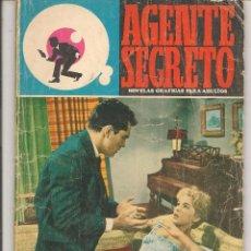 Comics : AGENTE SECRETO. Nº 34. TE CAMBIO UN MUERTO. NOVELA GRÁFICA FERMA 1966(ST/37). Lote 59645027