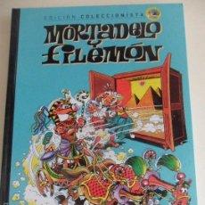 Cómics: MORTADELO Y FILEMON. EDICION COLECCIONISTA. Nº 1. POR FRANCISCO IBAÑEZ. CONTIENE 3 HISTORIAS: LA MAQ. Lote 59767548