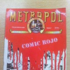 Cómics: METROPOL #7. Lote 136837220