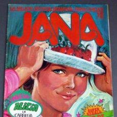 Cómics: JANA Nº 12 REVISTA SEMANAL PARA CHICAS ED SARPE 1983. Lote 60265779