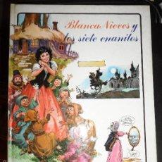 Cómics: BLANCANIEVES BLANCA NIEVES Y LOS 7 SIETE ENANITOS TAPA DURA . Lote 60307035