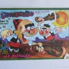 Cómics: SUPER MAÑO, EL COMIC. NÚMERO 7. LA MATACIA.. Lote 60332915