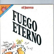 Cómics: DIOS MIO - FUEGO ETERNO - JOSÉ LUIS MARTÍN - PENDONES DEL HUMOR Nº 88 - EDICIONES EL JUEVES.. Lote 60365307