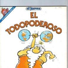 Cómics: DIOS MIO - EL TODOPODEROSO - JOSÉ LUIS MARTÍN - PENDONES DEL HUMOR Nº 58 - EDICIONES EL JUEVES.. Lote 60366423