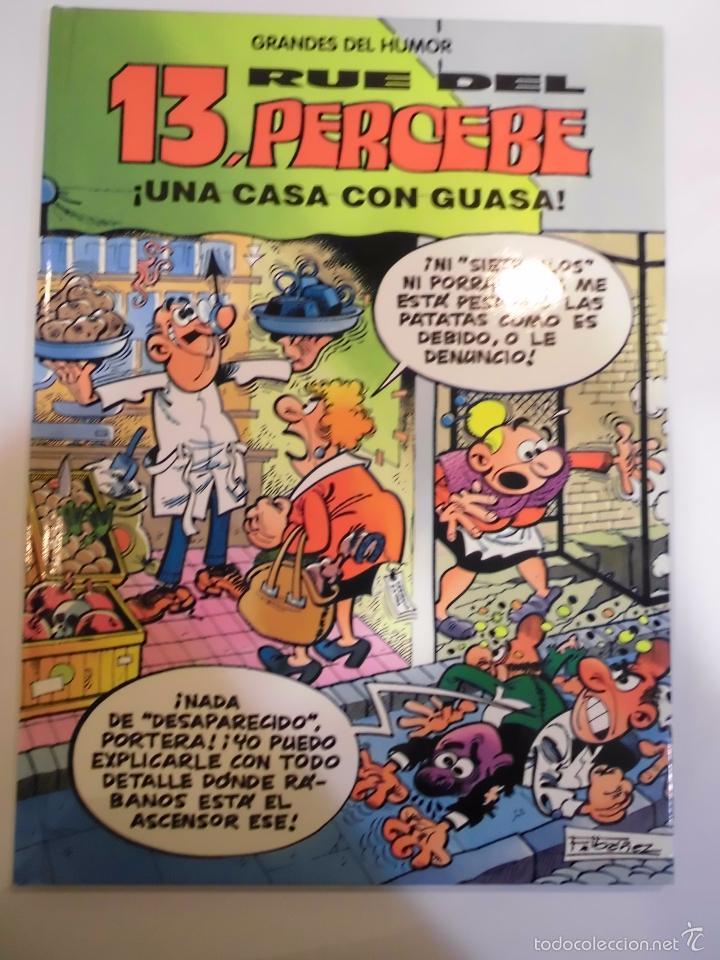 13 RUE DEL PERCEBE - UNA CASA CON GUASA - NUM 8 - TAPA DURA- F IBAÑEZ - EL PERIODICO 1996 (Tebeos y Comics Pendientes de Clasificar)