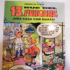 Cómics: 13 RUE DEL PERCEBE - UNA CASA CON GUASA - NUM 8 - TAPA DURA- F IBAÑEZ - EL PERIODICO 1996. Lote 60372547