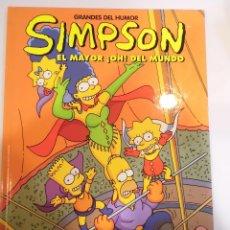 Cómics: LOS SIMPSON - EL MAYOR !OH¡ DEL MUNDO - NUM 13 - TAPA DURA- MATT GROENING - EL PERIODICO 1997. Lote 60373079