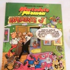 Cómics: MORTADELO Y FILEMON - EXPEDIENTE J - GRANDES DEL HUMOR- TAPA DURA- F IBAÑEZ - EL PERIODICO 1996. Lote 60374099