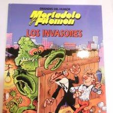 Cómics: MORTADELO Y FILEMON - LOS INVASORES - NUM 17 - TAPA DURA- F IBAÑEZ - EL PERIODICO 1996. Lote 60374295