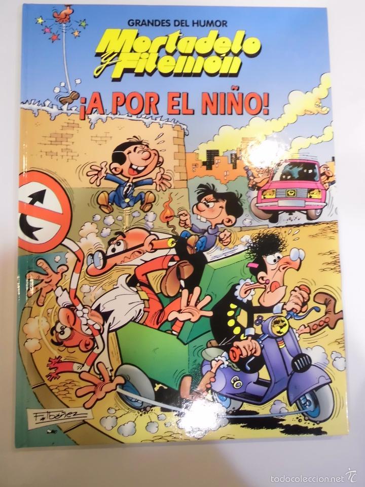 MORTADELO Y FILEMON - A POR EL NIÑO - NUM 9 - TAPA DURA- F IBAÑEZ - EL PERIODICO 1996 (Tebeos y Comics Pendientes de Clasificar)