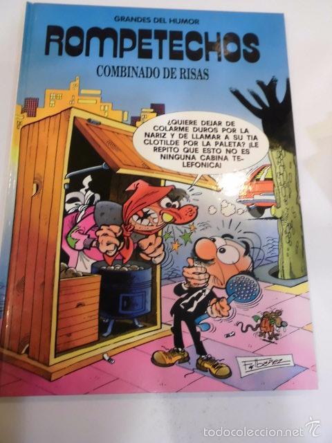 ROMPETECHOS - GRANDES DEL HUMOR - NUM 5 - TAPA DURA- F IBAÑEZ - EL PERIODICO 1996 (Tebeos y Comics Pendientes de Clasificar)