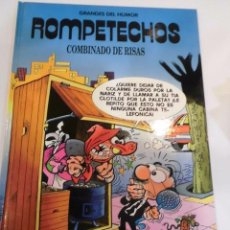 Cómics: ROMPETECHOS - GRANDES DEL HUMOR - NUM 5 - TAPA DURA- F IBAÑEZ - EL PERIODICO 1996. Lote 98934351