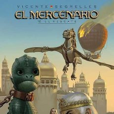 Cómics: EL MERCENARIO 12 - EL RESCATE - VICENTE SEGRELLES - PONENT MON. Lote 60585299