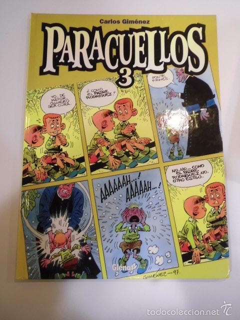PARACUELLOS 3- TAPA DURA- CARLOS GIMENEZ - GLENAT 1999 (Tebeos y Comics Pendientes de Clasificar)