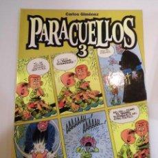 Cómics: PARACUELLOS 3- TAPA DURA- CARLOS GIMENEZ - GLENAT 1999. Lote 60639975