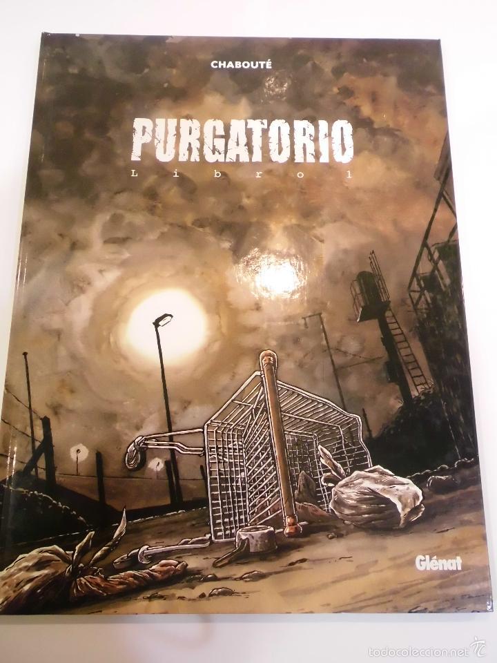 PURGATORIO - LIBRO 1- TAPA DURA- CHABOUTE - GLENAT 2004 (Tebeos y Comics Pendientes de Clasificar)