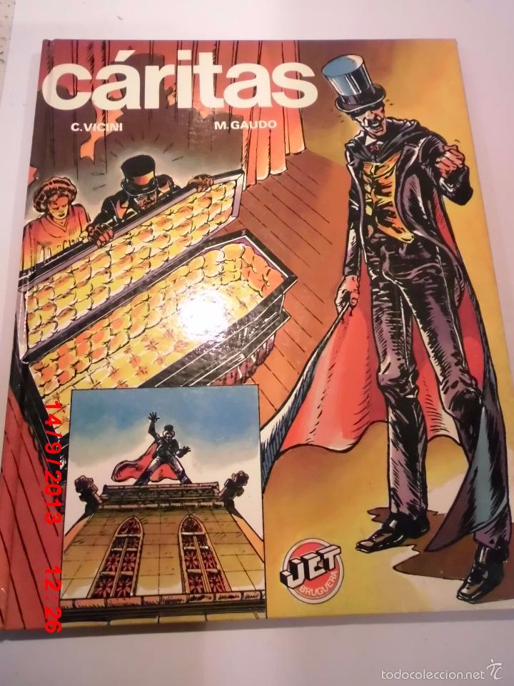 CARITAS- TAPA DURA- VICINI & M.GAUDO - JET BRUGUERA 1983 (Tebeos y Comics Pendientes de Clasificar)