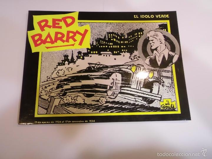 RED BARRY EL IDOLO VERDE - WILL GOULD - EDICIONES B.O. - 1982 (Tebeos y Comics Pendientes de Clasificar)