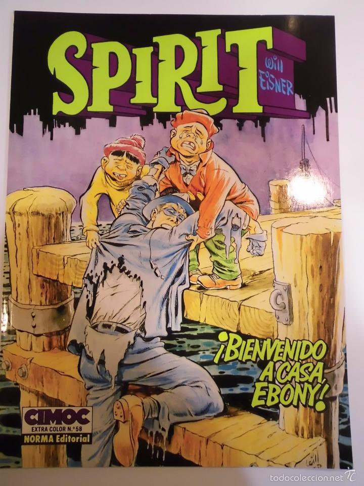 SPIRIT - BIENVENIDO A CASA EBONY - WILL EISNER - NORMA - 1989 (Tebeos y Comics Pendientes de Clasificar)