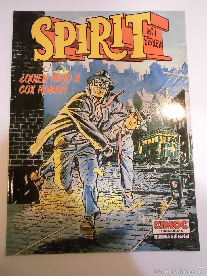 SPIRIT - ¿QUIEN MATO A COX ROBIN? - WILL EISNER - NORMA - 1988 (Tebeos y Comics Pendientes de Clasificar)