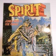 Cómics: SPIRIT - ¿QUIEN MATO A COX ROBIN? - WILL EISNER - NORMA - 1988. Lote 167194874