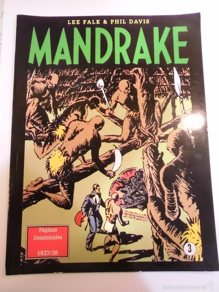 MANDRAKE - PAGINAS DOMINICALES NUM 3 - LEE FALK & PHIL DAVIS - ED EUROCLUB - 1998 (Tebeos y Comics Pendientes de Clasificar)