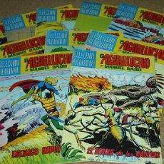 Cómics: EL AGUILUCHO - LOTE DE 14 TEBEOS - VALENCIANA 1981 - BUEN ESTADO- LEER. Lote 60858071