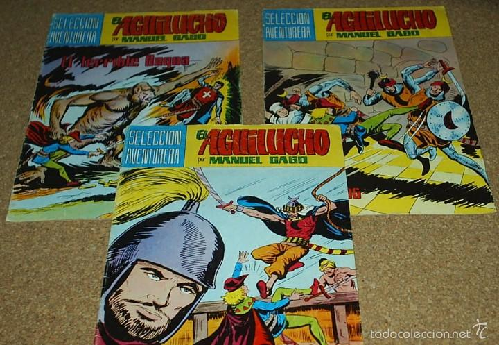 Cómics: EL AGUILUCHO - LOTE DE 14 TEBEOS - VALENCIANA 1981 - BUEN ESTADO- IMPORTANTE LEER DSCRIPCION - Foto 2 - 60858071