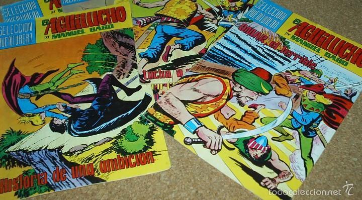 Cómics: EL AGUILUCHO - LOTE DE 14 TEBEOS - VALENCIANA 1981 - BUEN ESTADO- IMPORTANTE LEER DSCRIPCION - Foto 3 - 60858071