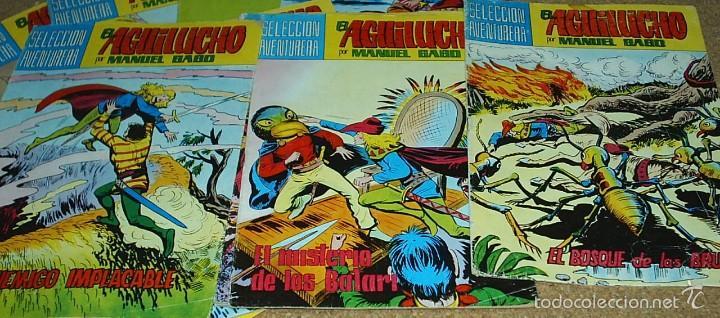 Cómics: EL AGUILUCHO - LOTE DE 14 TEBEOS - VALENCIANA 1981 - BUEN ESTADO- IMPORTANTE LEER DSCRIPCION - Foto 4 - 60858071