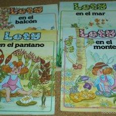 Cómics: LETY-RARA COLECCION COMPLETA - EDER 1985 - SUS 4 EJEMPLARES EN PERFECTO ESTADO- LEER. Lote 60858715