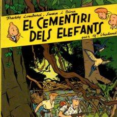 Cómics: YVES CHALAND : EL CEMENTIRI DELS ELEFANTS (COMPLOT, 1985). Lote 60860759