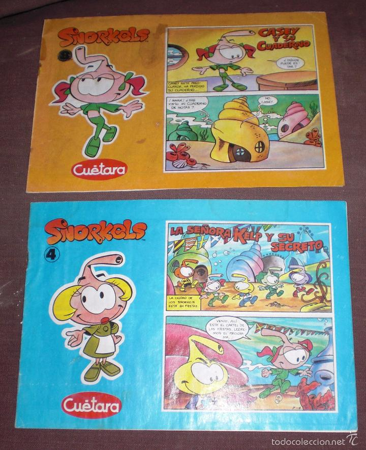 COMIC SNORKELS CUETARA 4 Y 8 (Tebeos y Comics - Comics otras Editoriales Actuales)