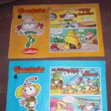 Cómics: COMIC SNORKELS CUETARA 4 Y 8. Lote 60877575