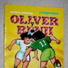 """Cómics: OLIVER Y BENJI. REVISTA SEMANAL """"CAMPEONES"""", Nº7 . Lote 60944619"""