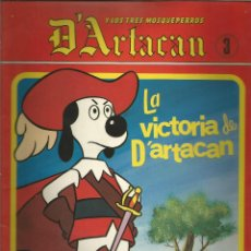 Cómics: D`ARTACAN Y LOS TRES MOSQUEPERROS Nº 3 MONTENA.. Lote 60989895