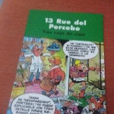 Cómics: 13 RUE DEL PERCEBE. UNA CASA DE CINE. EST23B1. Lote 61055307