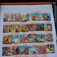 Cómics: MINI BIBLIOTECA DE LA LITERATURA UNIVERSAL PETETE 29 NUMEROS. Lote 61163371