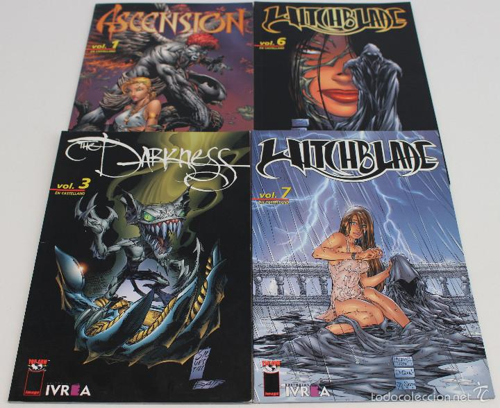 WITCHBLADE, THE DARKNESS, ASCENSION. LOTE DE 4 TOMITOS. IMAGE, TOP COW. EDITORIAL IVREA. (Tebeos y Comics - Comics Pequeños Lotes de Conjunto)