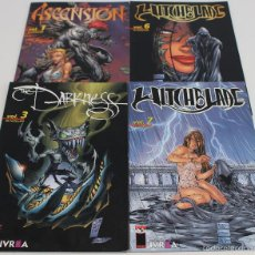 Cómics: WITCHBLADE, THE DARKNESS, ASCENSION. LOTE DE 4 TOMITOS. IMAGE, TOP COW. EDITORIAL IVREA.. Lote 61205435