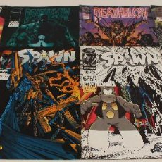 Cómics: SPAWN, DEATHBLOW, STORMWATCH. LOTE 8 COMICS IMAGE, WORLD COMICS.. Lote 61211791