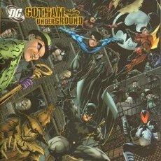 Cómics: GOTHAM UNDERGROUND - FRANK TIERI Y JIM CALAFIORE - PLANETA. Lote 243399260