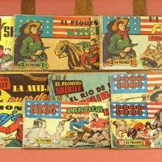 Cómics: LP-303 - EL PEQUEÑO SHERIFF. 10 EJEMPLARES(VER DESCRIP). VV. AA. EDIT. H. AMERICANA. 1950?.. Lote 61256707