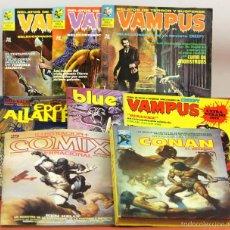 Cómics: 7982 - LOTE DE 8 COMICS PARA ADULTOS(VER DESCRIP). VV. AA. VARIAS EDITORIALES. 1971/1983.. Lote 61309455