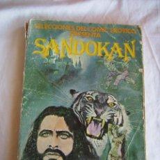 Cómics: **COMIC EROTICO,---SANDOKAN--- (1977) 100 PTAS (26 X18 CM)** TAL Y COMO SE VE EN LA FOTO!!. Lote 61412047
