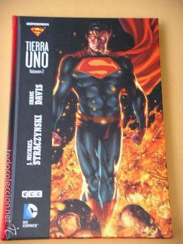 SUPERMAN, TIERRA UNO, VOLUMEN 2, ED. ECC, TAPA DURA, DC (Tebeos y Comics - Comics otras Editoriales Actuales)